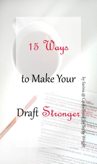 Becky_15 Ways to Make Your Draft Stronger